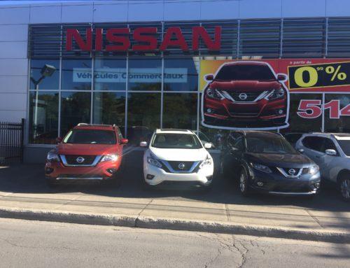 Nissan Versa (2007-2012) : règlement concernant les ressorts hélicoïdaux