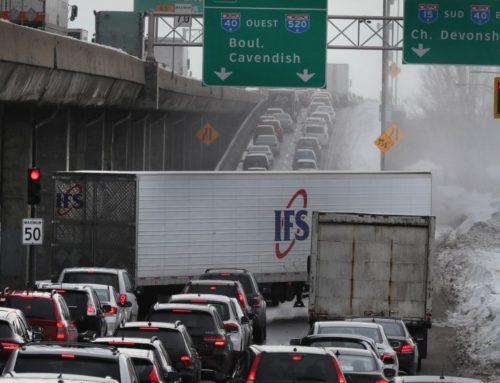 Cafouillage sur l'autoroute 13 – Action Collective (14 et 15 mars 2017)