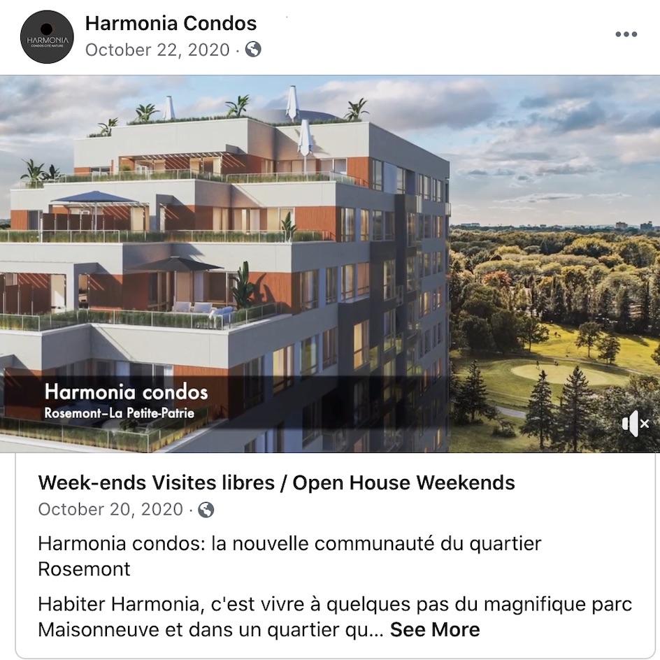 Harmonia Condos Cité-Nature (phase IV) – Class Action